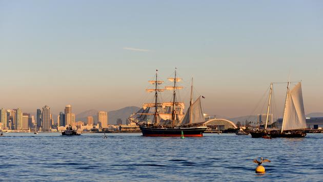 Star of India in San Diego, California.