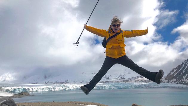 Susie Chau in Svalbard, Norway
