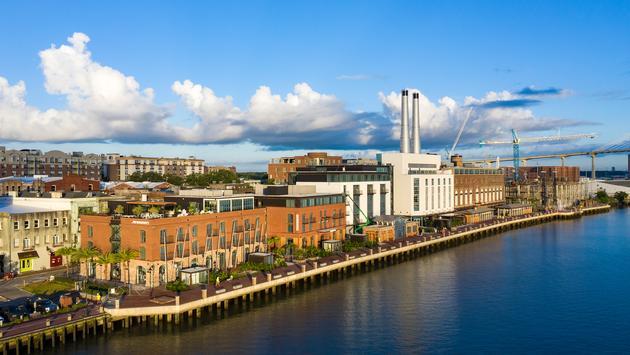 Savannah's New Plant Riverside District