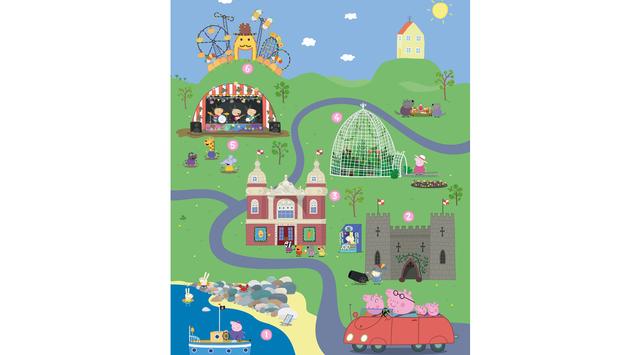 England, Peppa Pig, tourism
