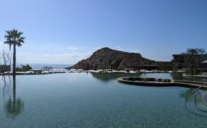 infinity pool, montage, los cabos, ocean, pool, mountain, hotel