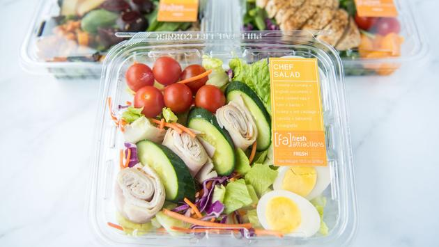 Grab-and-Go Chef Salad, Fresh Attractions