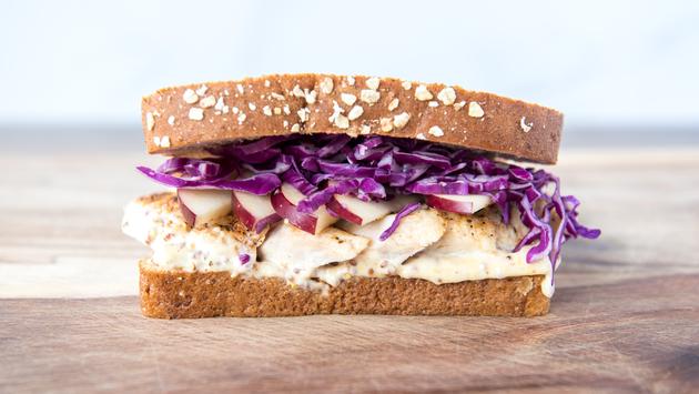 Chicken Apple Crunch sandwich from Fresh Attractions