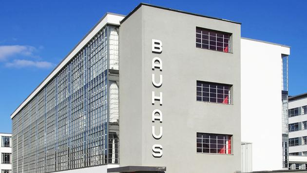 Bahaus in Dessau, Germany