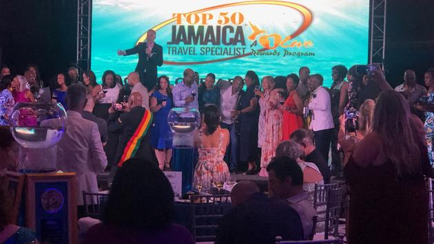 Top 50 Jamaica travel sellers gala and awards ceremony