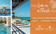 Find Love in a Flash (Sale) – 2019 Bonus LoyalTI First Points Offered + Upgraded Stays