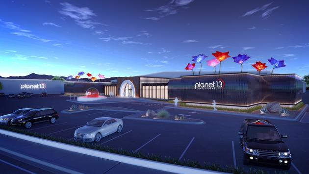 Planet 13 Superstore, Las Vegas, Nevada