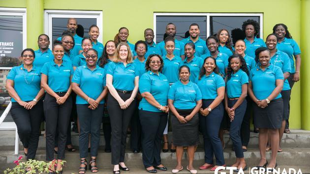 L'équipe de l'Office de tourisme de la Grenade.