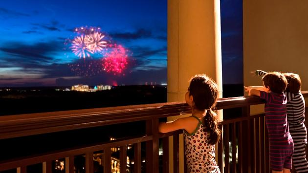 Disney Fireworks from the Four Seasons Resort Orlando
