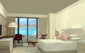 Ritz Carlton St. Thomas room