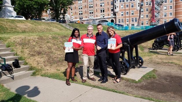 L'équipe des ventes de Vacances Air Canada