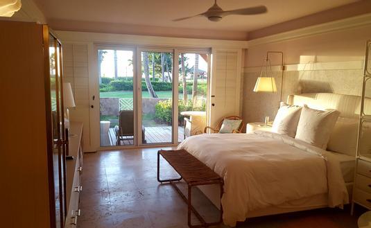 Nevis Four Seasons oceanview room.