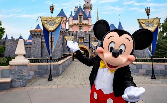 Mickey says See ya real soon as Disneyland plans reopening.