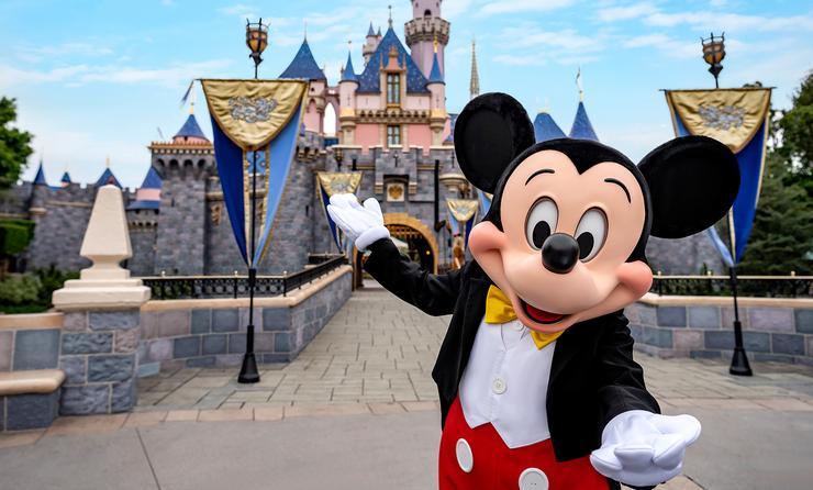 "Mickey says ""See ya real soon"" as Disneyland plans reopening."