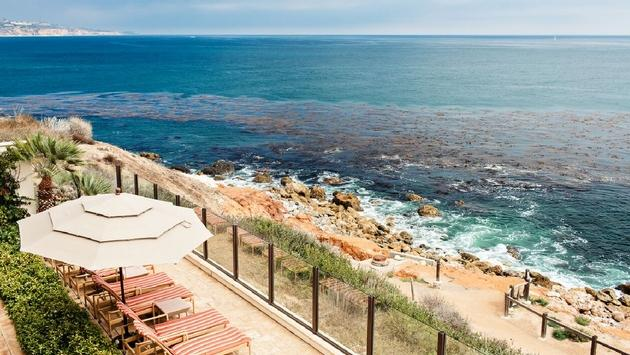 Enjoy sweeping views of the Pacific Ocean during a spa day at Terranea Resort.