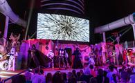 """Summon the Force"" deck party Star Wars Day at Sea on Disney Fantasy"