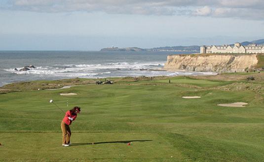 Half Moon Bay golf link