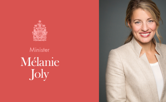 Minister of Tourism Melanie Joly