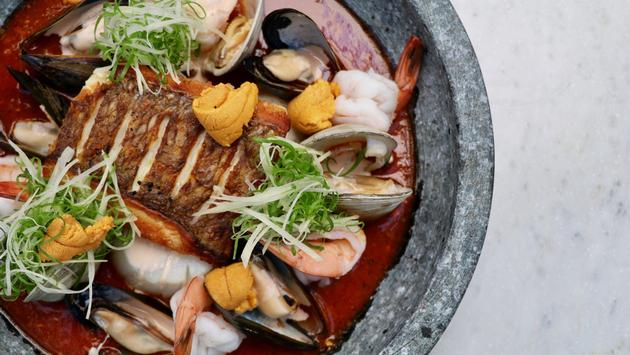 Seafood Stew at Once Resaurant, The Palazzo