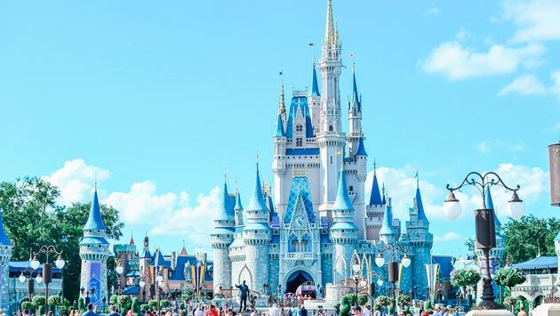 Cinderella's Castle, Magic Kingdom, Walt Disney World, Florida