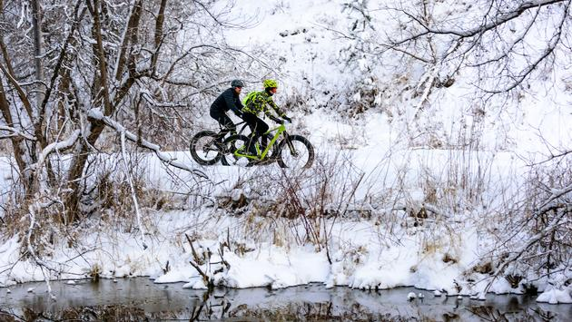 Fat biking in South Dakota