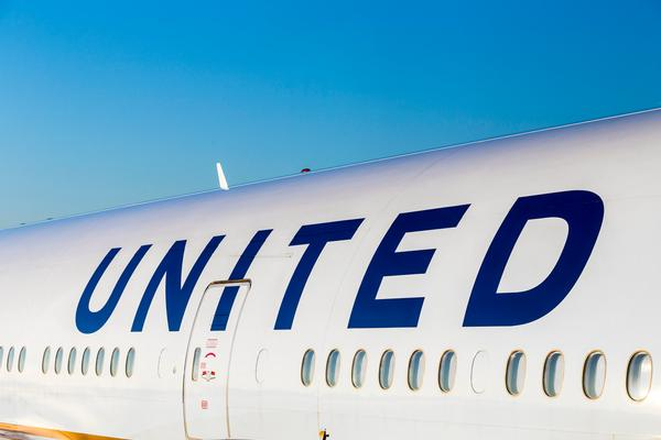 United Airlines Plane Skids Off Runway at Newark Airport
