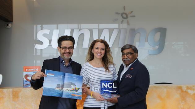 Sunwing nommé meilleur partenaire par NCL