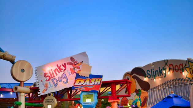 Toy Story Land, Hollywood Studios, Disney World, Florida