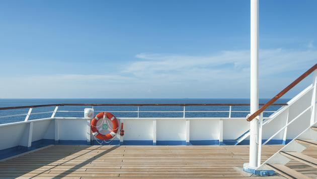 Cruise ship deck