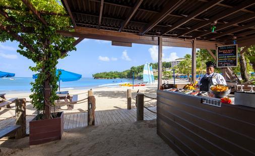 Sand Pit BBQ, St. James's Club Morgan Bay, Saint Lucia