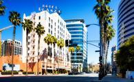 Hotel De Anza in downtown San Jose, California