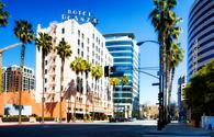 Hotel De Anza in downtown San Jose, California