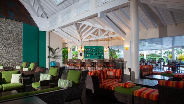 Sunset Bar, St. James's Club Morgan Bay, Saint Lucia