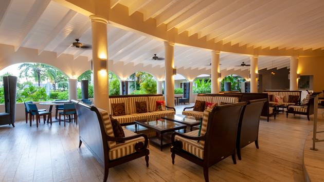 Lobby at St. James's Club Morgan Bay, Saint Lucia