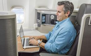 American Air Business Class Passenger