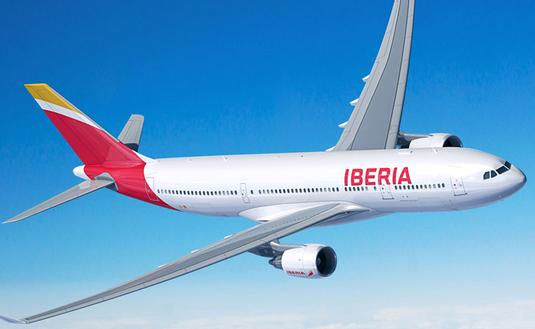 Iberia A330 Airplane exterior