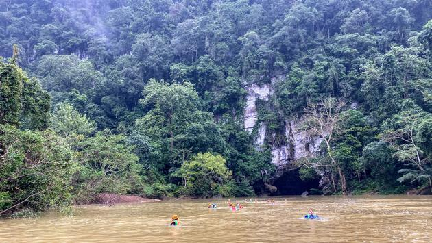 Exploration of Ken Cave.