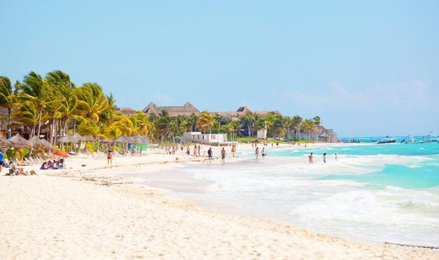 Playa del Carmen, Mexico.