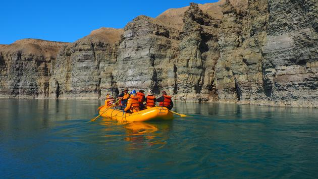 Cunningham River, Quark Expeditions