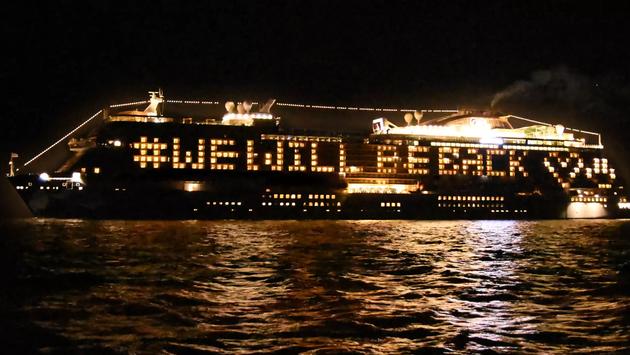 Princess Cruises ship.