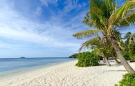 A beach on the Mamanuca Islands of Fiji