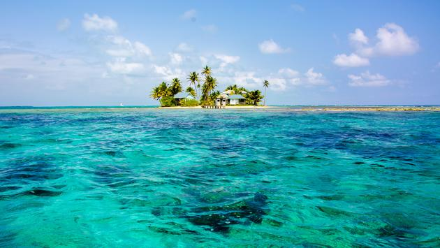 Beautiful Island in Belize
