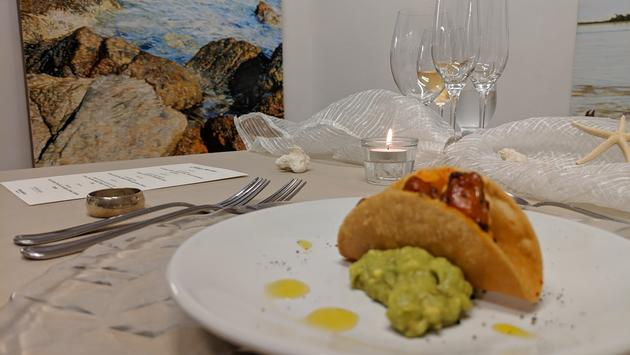painting, art, table, dining, los cabos, gallery, food