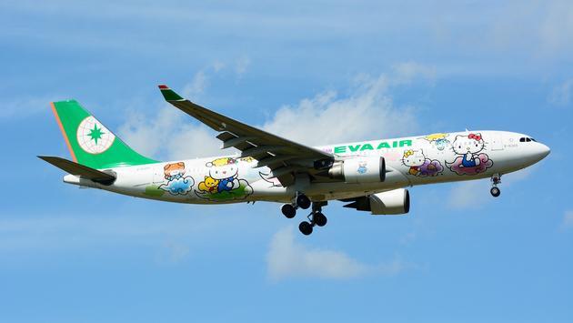 EVA Air's Hello Kitty themed Airbus A330