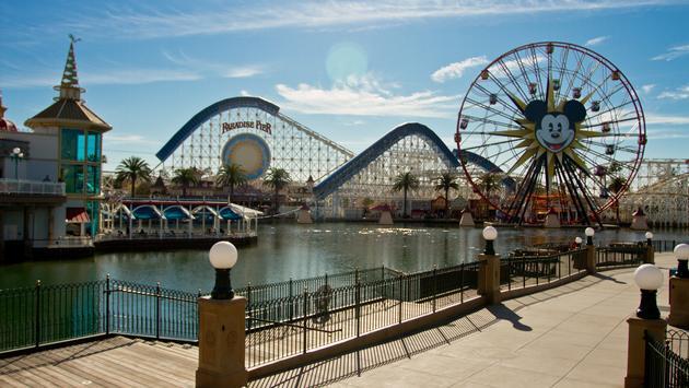 Paradise Pier at Disneyland Resort