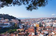 Sophia de Mello Breyner Andresen viewing point in Lisbon, Portugal