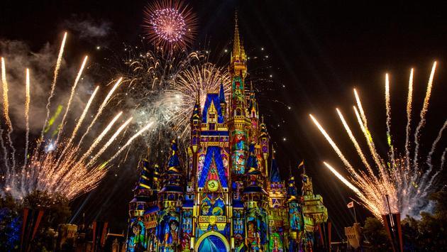 Happily Ever After Fireworks Show at Magic Kingdom at Walt Disney World