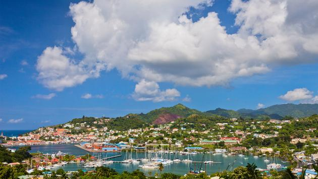St. George, the capital city of Grenada