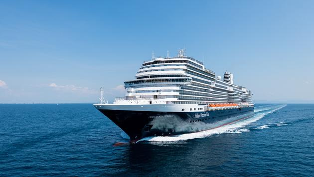 The Rolling Stone Rock Room will open on Nieuw Statendam's sister ship, the Koningsdam, in December. The decision whether to roll out to other ships in the fleet will depend on guest response. (Photo Courtesy of Holland America)