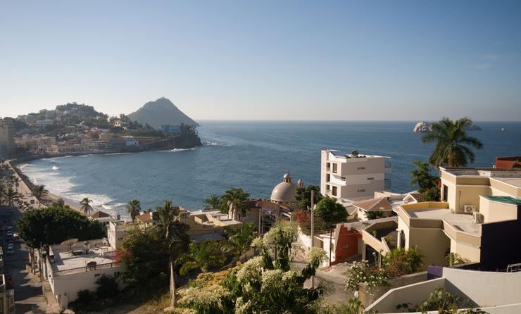Mazatlan Mexico Scenic Look Out Point